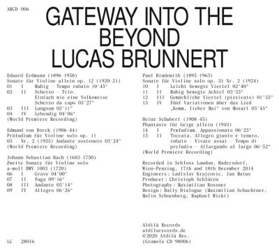 Brunnert: Gateway into the Beyond Brunnert,Lucas
